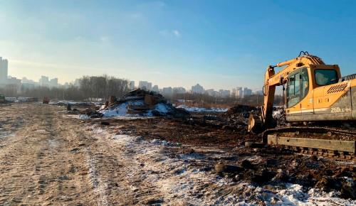 На месте свалки строительного мусора в Москве создадут научно-технологическую долину