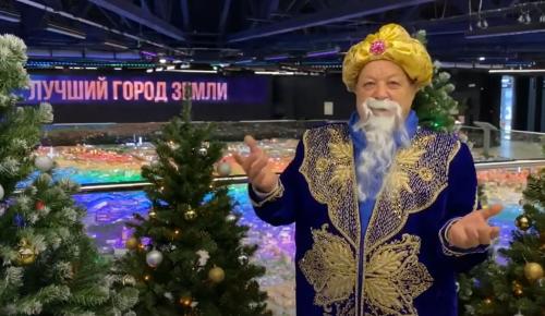 Проект «Московское долголетие» выбрал лучшего Деда Мороза
