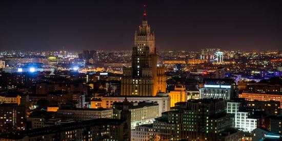 Депутат МГД Бускин рассказал об использовании подсветки домов для индикации состояния атмосферного воздуха
