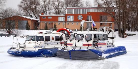 В январе спасатели оказали помощь 13 пострадавшим  на водоемах города