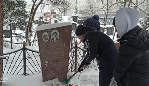 Могилу Героя Афганской войны в Северном Бутове привели в порядок