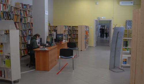 В библиотеке № 180 меры санитарной безопасности соблюдают и люди,  и книги