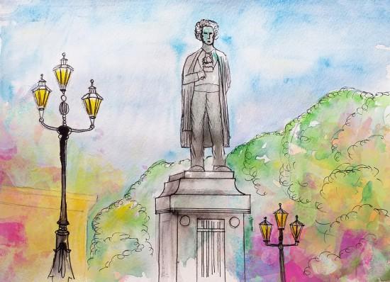 Библиотека Ясенева подготовила для школьников онлайн-лекцию о Пушкине