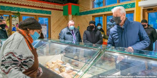 Собянин: За год в Москве будет открыто еще 20 новых круглогодичных ярмарок