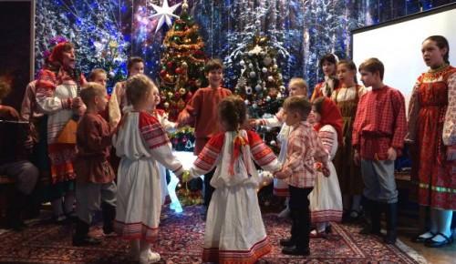 На Рождество Христово в храме Живоначальной Троицы состоялся праздничный концерт