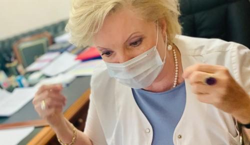 Главврач больницы № 64 рассказала о защите от коронавируса с помощью тканевой маски
