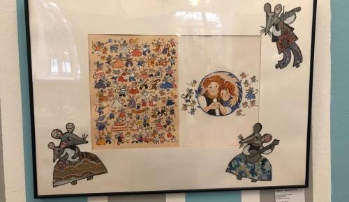Посвященная символу года выставка в библиотеке № 178 завершает свою работу