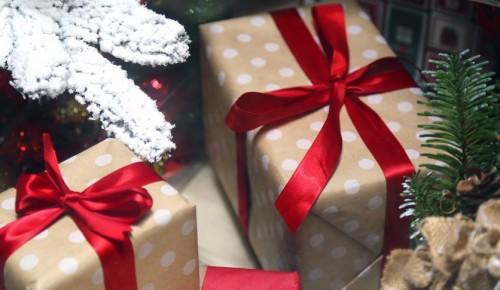 Новогодняя акция по раздаче подарков стартует в павильоне МЦД