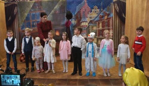 В Воскресной школе храма Живоначальной Троицы прошел большой Рождественский праздник