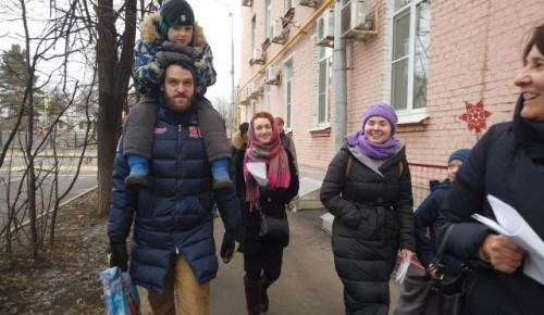 Представители храма Всех Преподобных Отцев Киево-Печерских поздравили ветеранов с Рождеством