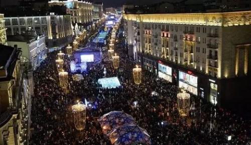 Мэрия Москвы опровергли информацию о перекрытии Тверской для пешеходов