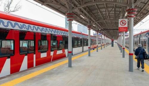 Больше 12 тысяч поездок было совершено в новогоднюю ночь на поездах МЦД