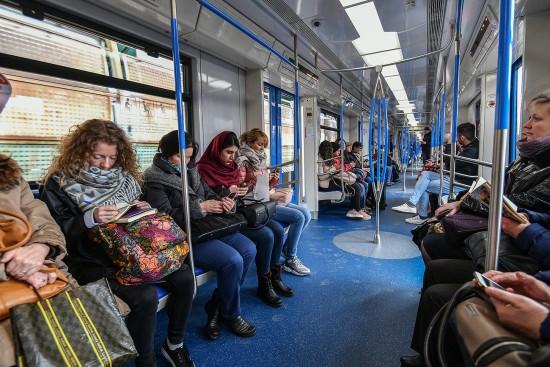 Более миллиарда поездок совершено в московском метро за первое полугодие