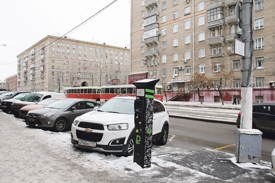 1,2% улиц Москвы войдут в платную парковочную зону