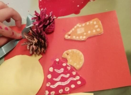 Ребята из Академического района поучаствовали в мастер-классе «Рождественский пряник»