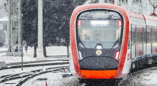 Наибольшей популярностью у горожан в новогодние дни пользовались станции МЦД «Царицыно» и «Тушино»