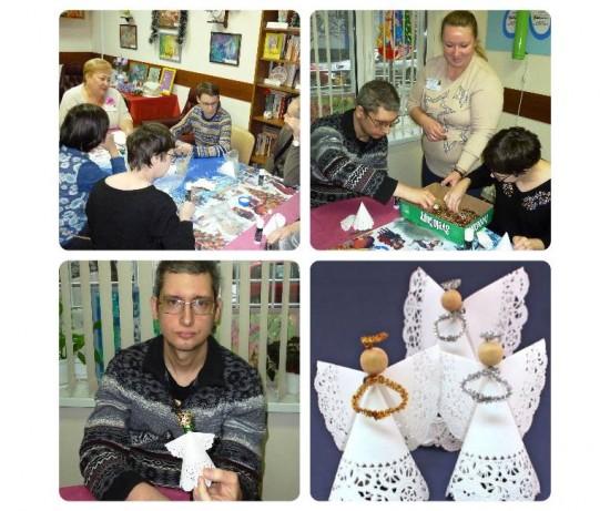 Рождественские обереги научили делать в филиале «Академический»