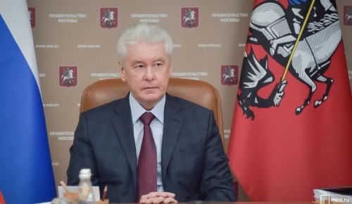 Собянин рассказал о работе координационного центра по коронавирусу