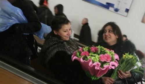 Собянин и Воробьев сделали женщинам подарок к 8 Марта