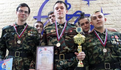 Студенты «Юго-Запада» завоевали серебро в соревнованиях по военно-прикладной подготовке