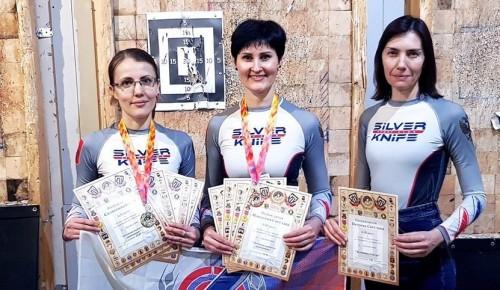 Участницы клуба «Серебряный нож» школы № 1534 успешно поучаствовали в соревнованиях на Кубок Северо-Запада 2020