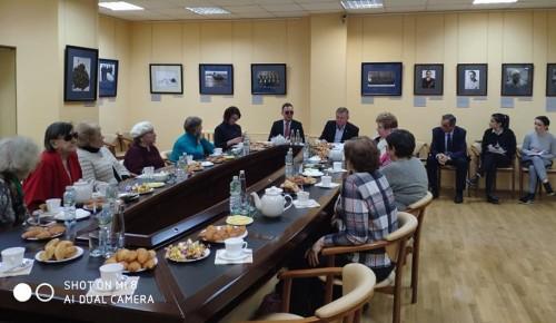 В Музее Героев прошла встреча ветеранов с руководством социальной защиты населения