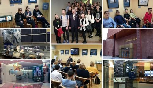 Урок мужества прошел в Музее Героев для учащихся образовательного комплекса «Юго-Запад»