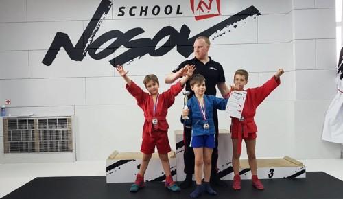 Спортсмены Академического района стали призерами первенства школы боевых искусств