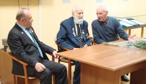 В Музее Героев чествовали ветерана Великой Отечественной войны из Академического района