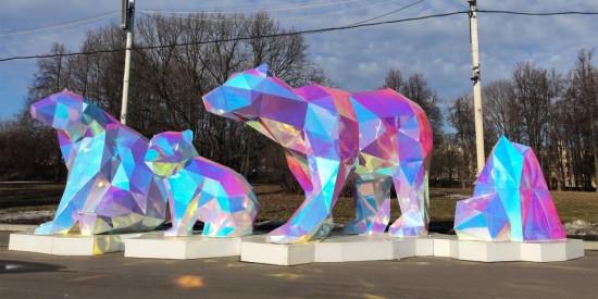 Скульптуры медведей у Московского дворца пионеров стали одним из самых ярких символов Москвы