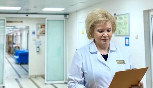 Главврач больницы им. В.В. Виноградова призвала не бояться вызывать скорую помощь