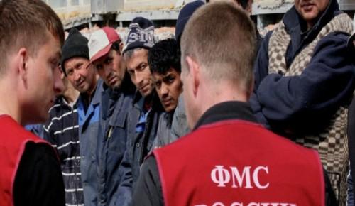 В столице в четыре раза снизилось число фактов организации незаконной миграции