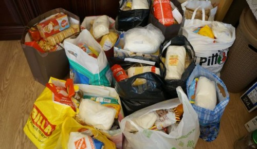 Социальная служба храма Всех Преподобных Отцев Киево-Печерских организовала помощь многодетным семьям