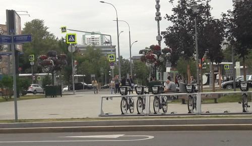 В Академическом районе первые пункты велопроката могут открыться 10 апреля