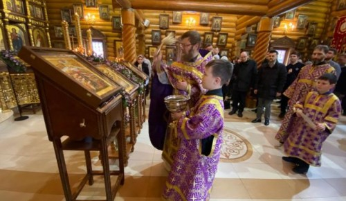 Новая икона «Всех Скорбящих Радость» появилась в храме Всех Преподобных Отцев Киево-Печерских