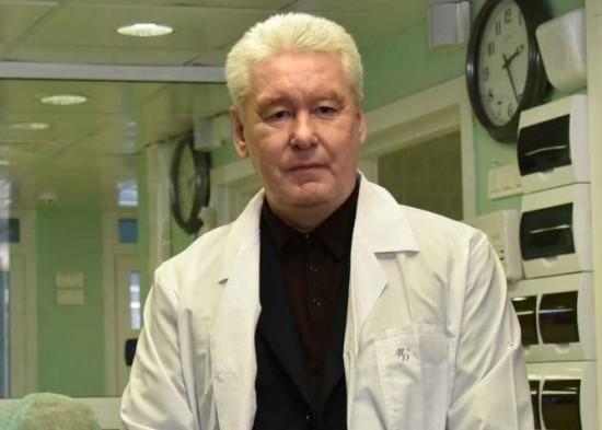Собянин рассказал о новой службе телемедицины для пациентов с COVID-19