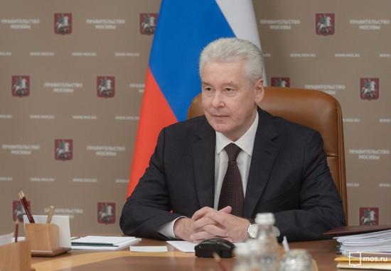 Собянин отложил введение пропускного режима в Москве