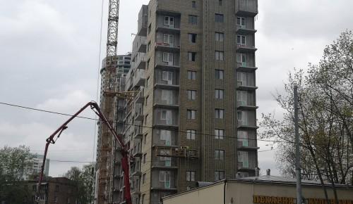 В Академическом районе возобновили строительство дома по программе реновации