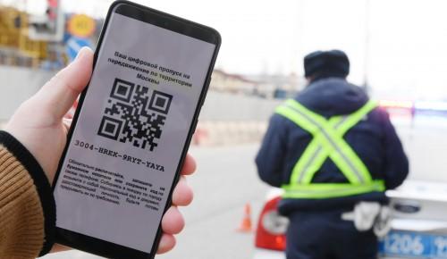 Власти: Данные москвичей в системе пропусков защищены законодательством