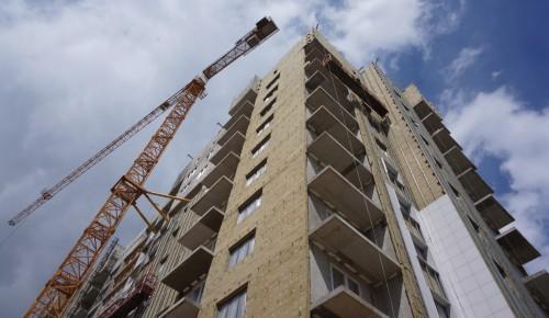 Дом по программе реновации в Академическом районе возводится с опережением графика