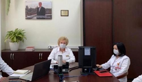 Пятничная конференция в больнице № 64 завершилась селекторным совещанием с Мэром Москвы