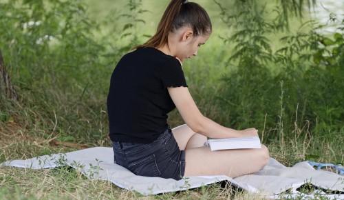 О Московской программе летнего чтения напомнила ребятам школа №45