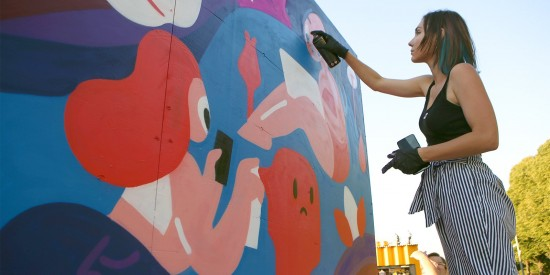 Депутат Мосгордумы поддержала появление граффити в специально отведенных местах на улицах Москвы