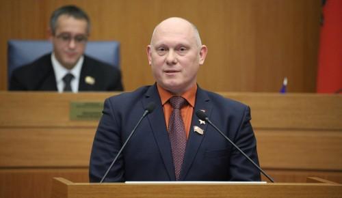 Депутат МГД Олег Артемьев рассказал, почему развитие велотранспорта важно для современного города