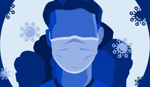 Использование медицинской маски минимизирует риск заражения коронавирусом