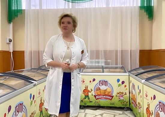 Праздник мороженого организовали для врачей больницы им. В.В. Виноградова