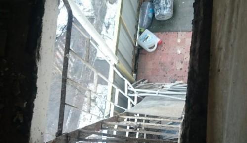 В доме 17-2 на Нагорной улице восстановили пожарный люк