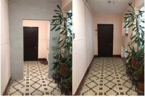Мосжилинспекция предотвратила попытку захвата приквартирного холла в доме на Ленинском проспекте