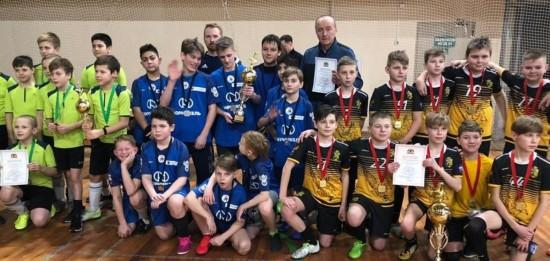 Три команды Академического района приняли участие в окружных соревнованиях по мини-футболу