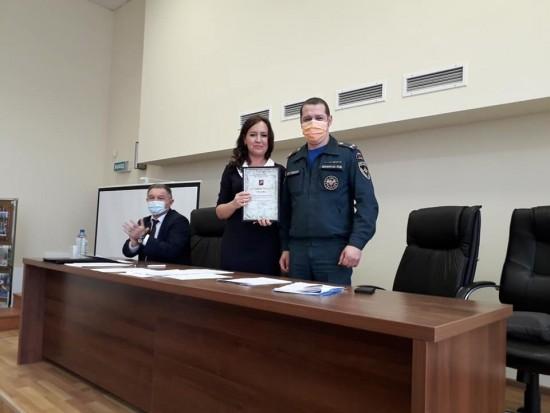 В управе Академического района обсудили итоги работы по гражданской обороне и защите от ЧС